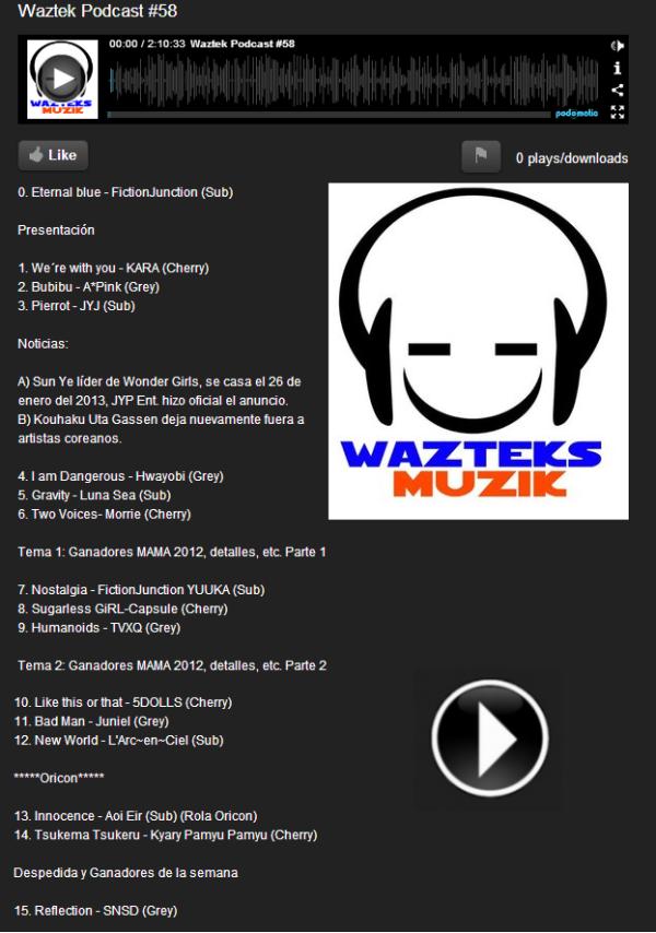 wazteks podcast #58